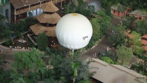 Tropical Island Ballon